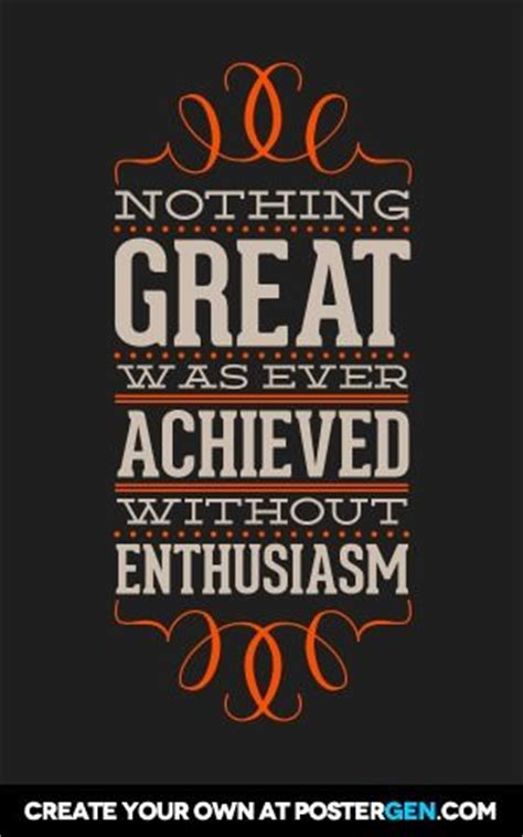 It Is With Great Interest And Enthusiasm That I Am Applying by Ralph Waldo Emerson Poster And Motivational Posters On