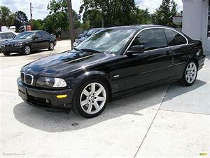 2003 Bmw 3 Series 325i Coupe In Jet Black - G61050