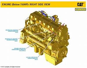 Caterpillar Schematic C15 And C18 Industrial Engines