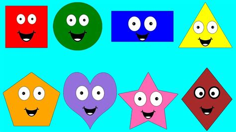 preschool colors and shapes learn shapes and color for educational 129