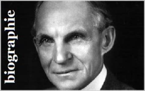 biography de henry ford