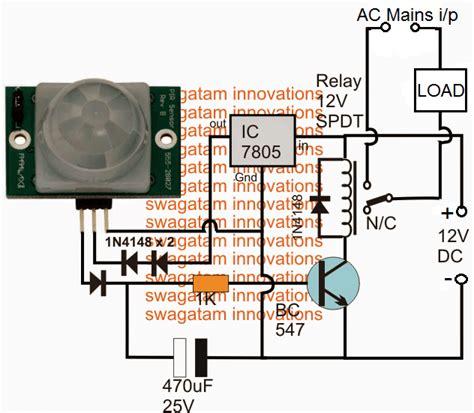 Simple Motion Detector Circuits Using Pir Homemade