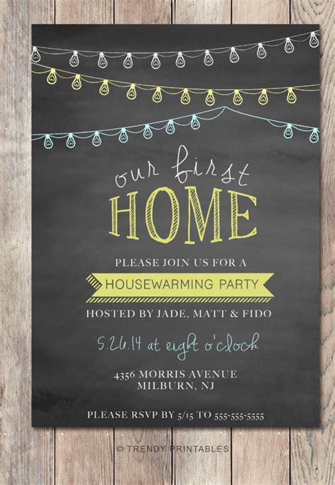 chalk board invitation template psd eps format