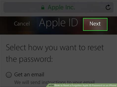 forgot apple id password on iphone how to reset a forgotten apple id password on an iphone Forgo