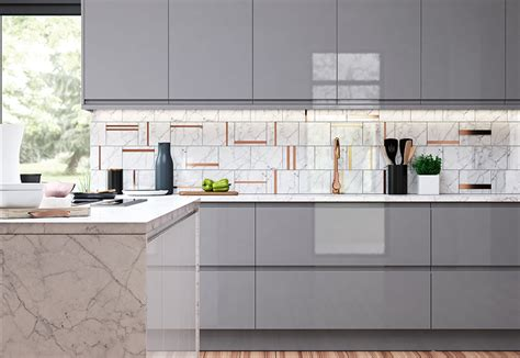 light grey gloss kitchen strada gloss light grey dust grey kitchen stori 6991