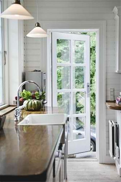 single french door perfect  kitchen  deck