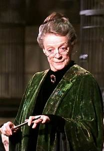 "Maggie Smith as Professor Minverva McGonagall, ""Harry ..."