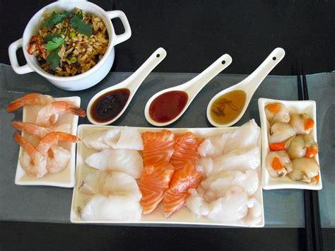cuisine au fondue japonaise facile au poisson la recette facile par