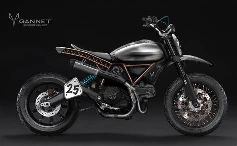Ducati Scrambler Icon Modification by Custom Gannet Tracker Ducati Scrambler Ducati Scrambler