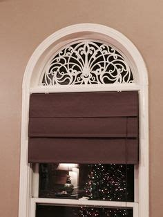 moveable arched window treatments   quarter