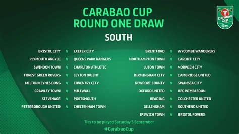 Rams Handed Home Tie Against Barrow In Carabao Cup First ...