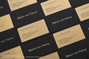 Metallic business cards business card design inspiration for Metallic ink business cards