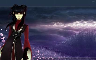 Mai Airbender Avatar Last Anime Wallpapers Letzte