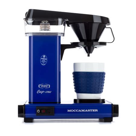 We proudly serve as the chosen partner for restaurants, hotels, offices and commuters across north america and the caribbean. Moccamaster Cup-One Coffee Brewer Royal Blue - Filter Coffee Machine - Coffeedesk