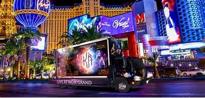 Vegas Billboards Las Digital Advertising Strip Advertisements