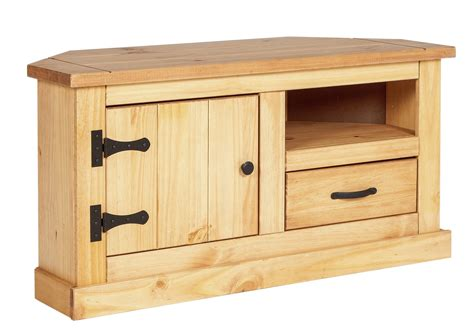 pine television home san diego 1 drawer solid pine corner tv unit