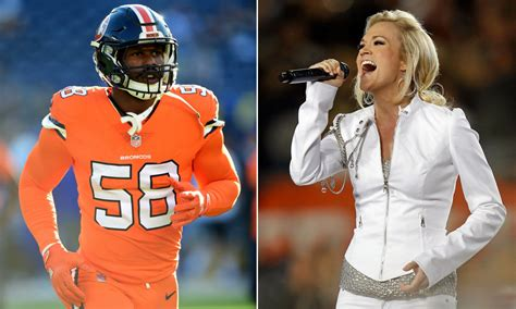 nfl players join carrie underwood  sunday night