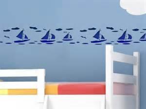wandschablone kinderzimmer wandschablone segelboote wandschablone 960 3