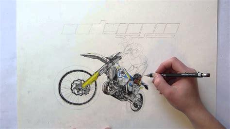 Husqvarna Drawing By Merle Kolbohm Powered By Enduropro