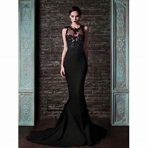 robe de soiree sirene noire all pictures top With robe de soirée noire longue