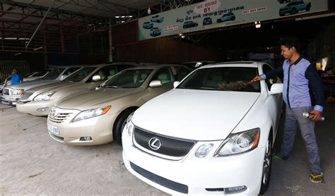 used cars taking the s of local vehicle sales khmer times