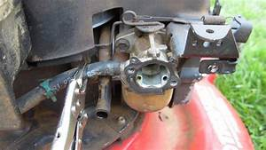 Troy Bilt 21 U0026quot  Lawn Mower Carburetor Cleaning Broken Craigslist Find - Part Ii