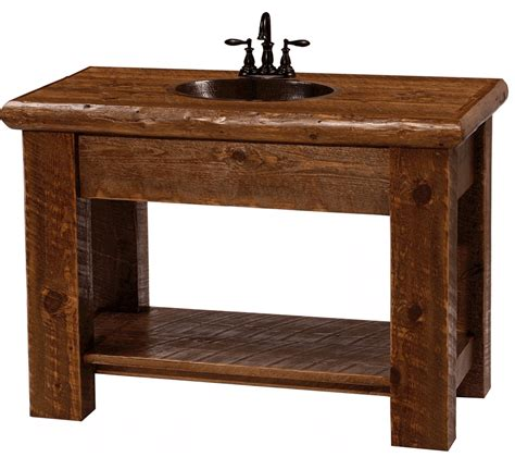 rustic double sink vanity 101 guidance about bathroom vanity with copper sink