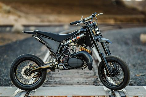 Yamaha Yz/rd350 Supermoto By Spoken Moto
