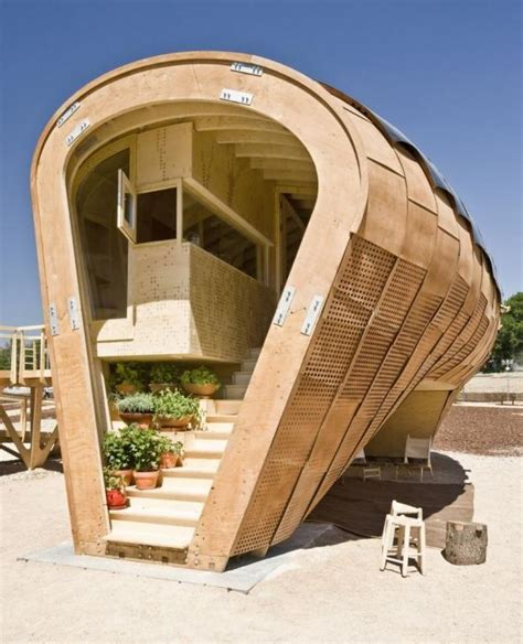 tiny solar house by iaac the fab lab project