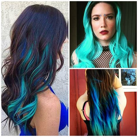 hair dye style perfectly shocking colors of funky hairstyle 6514