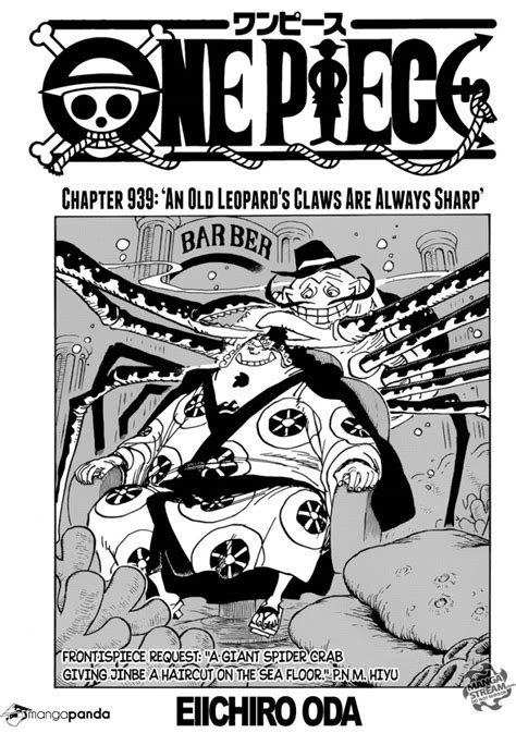 One Piece 939 - Read One Piece 939 Online - Page 1