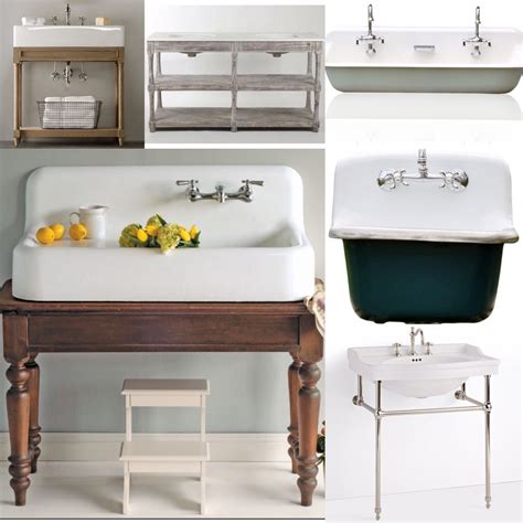 vintage style bathroom sinks if you 39 re building a farmhouse or looking to remodel a