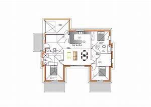 Plan Maison U : plan maison plain pied en u ab38 jornalagora ~ Melissatoandfro.com Idées de Décoration