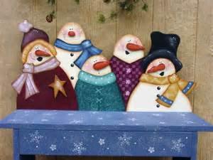 Snowman Tole Painting Patterns
