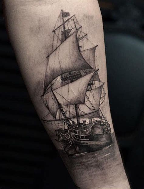 Ship Tattoo by Best 25 Sailing Tattoo Ideas Only On Pinterest Sailor