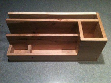 pallet wood desk organizer pallet wood projects