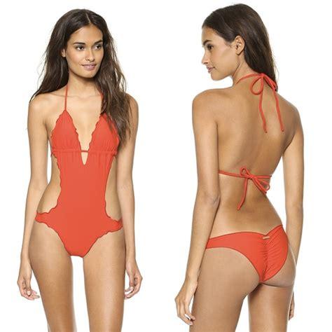 piece swimsuits   sexier  bikinis huffpost