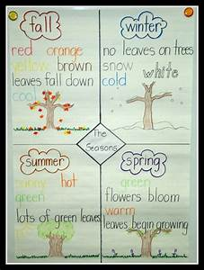 Today In First Grade     Learning About The Seasons