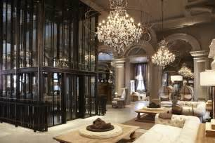 house design home furniture interior design a tour of the restoration hardware flagship store in