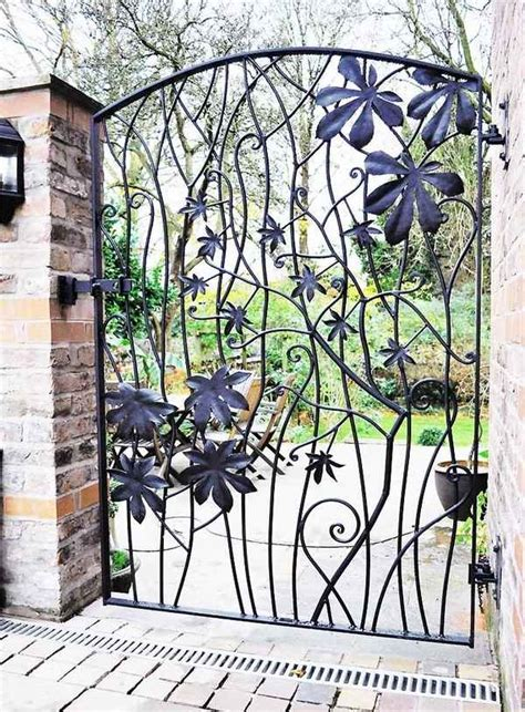 15 decorative metal gate design for amazing impression