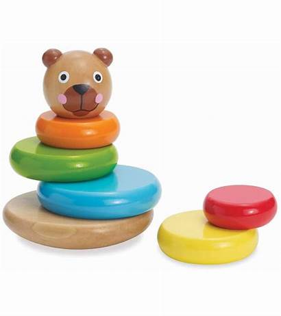 Stack Bear Manhattan Brilliant Magnetic Toy
