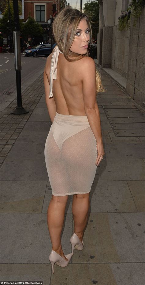 Former TOWIE star Abigail Clarke shows off posterior in ...
