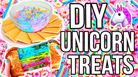 Diy Unicorn Treats For Summer!!
