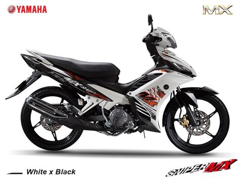Yamaha Sniper Mx (white & Black)