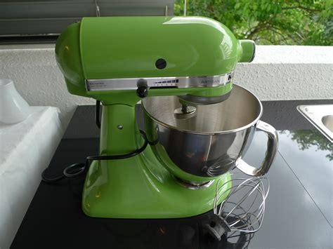 kitchen aid green apple loanables kitchen aid mixer with attachments located in 4970