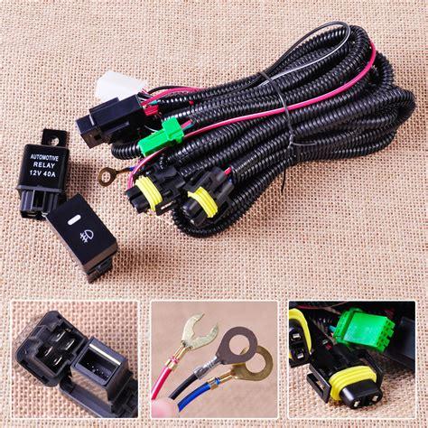 Fog Light Wiring Harness Sockets Wire Led Indicators