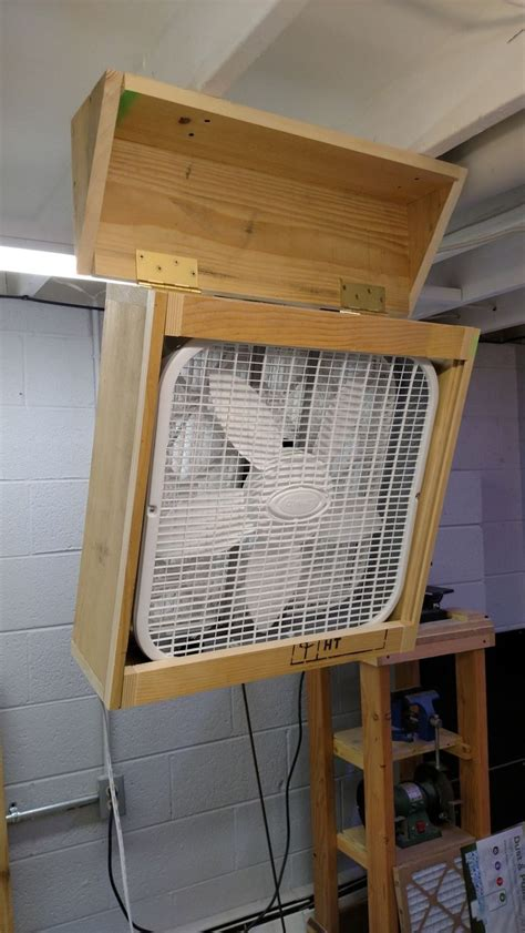 diy woodshop air filter   wood shop projects