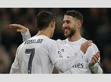 Real Madrid can't stop Ramos and Ronaldo joining Man Utd
