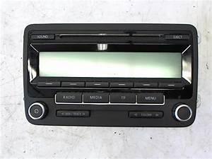 Volkswagen Pieces D Origine : autoradio d 39 origine volkswagen golf vi diesel ~ Dallasstarsshop.com Idées de Décoration