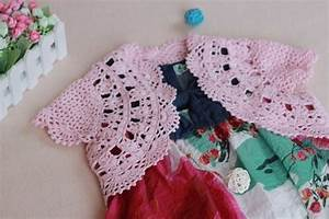 Crafts for summer: cute crocheted bolero, kids craft ideas